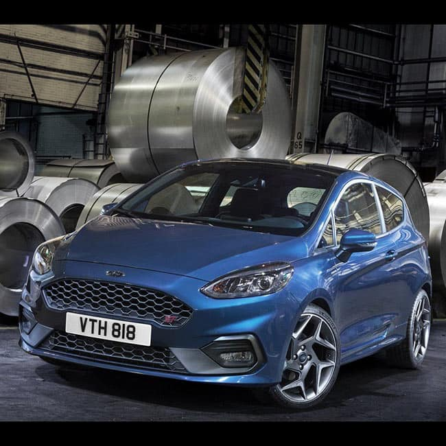 2018 Ford Fiesta ST On Display At Geneva International