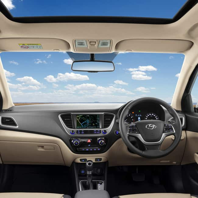 2018 Hyundai Verna interior design