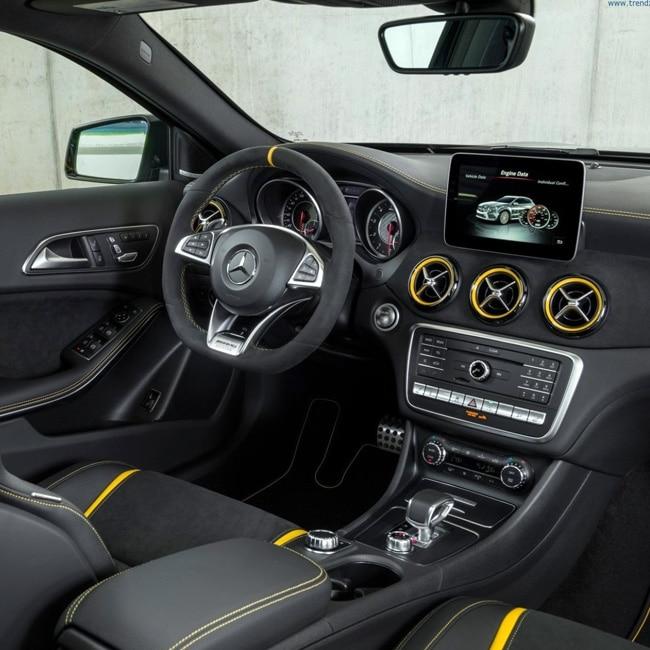 2018 Mercedes AMG CLA 45 and GLA 45 interiors