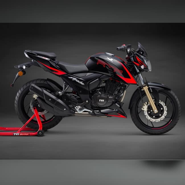 2018 TVS Apache RTR 200 4V Race Edition 2 0 mileage and efficiency