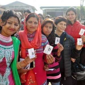 Uttarakhand Assembly Elections 2017:  68 per cent voting till 5 pm