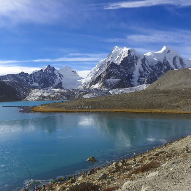 A beautiful picture of Lachen in Sikkim
