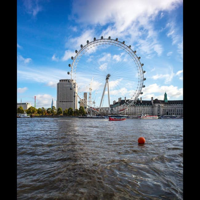 A beautiful picture of London city
