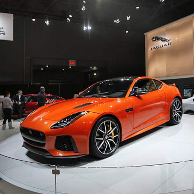 Jaguar Cars: A Breathtaking View Jaguar F Type SVR Model Car