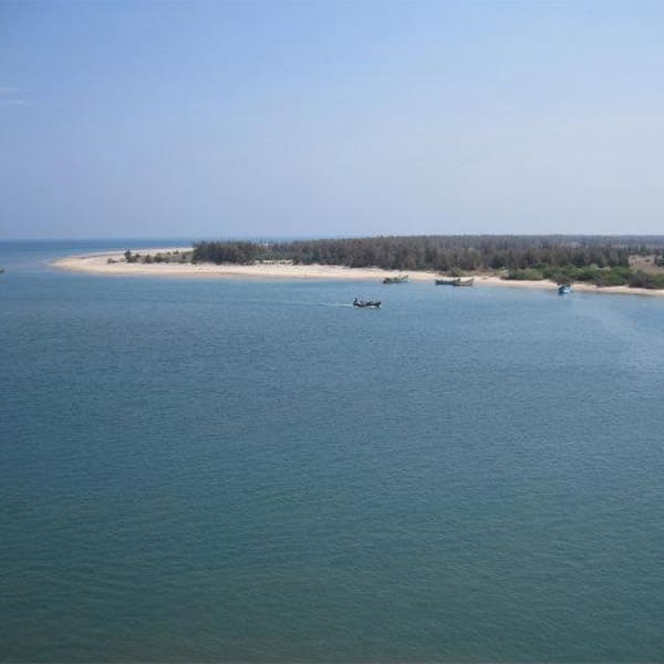 A picture of    Hope Island    in Andhra Pradesh