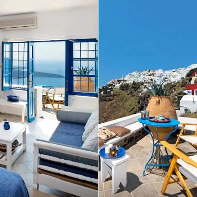 A romantic airbnb apartment in santorini greece check for Airbnb apartments