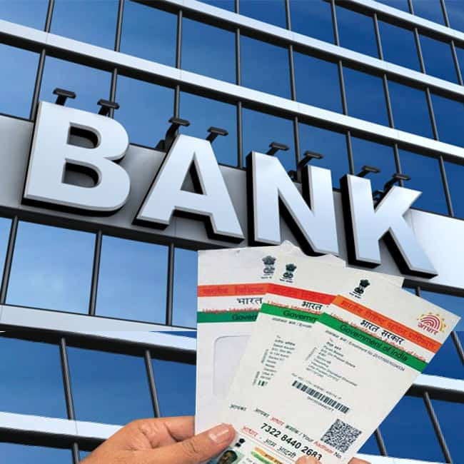 Aadhaar's link up with bank accounts