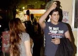 IN PICS: Akshay Kumar's son Aarav Bhatia takes mystery girl on a movie date; tries dodging cameras!