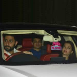 Aishwarya Rai and Abhishek Bachchan spotted on dinner date in Mumbai