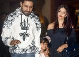 Aishwarya Rai, Abhishek and Amitabh Bachchan celebrate Aaradhya's birthday at hotel in Mumbai, see pics