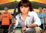 AbRam gives an adorable twist to father Shah Rukh Khan's movie posters