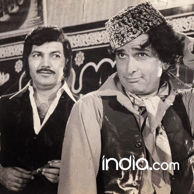 Actor Shashi Kapoor with Prem Chopra