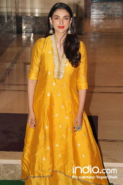 Aditi Rao Hydari during Ganesh Chaturthi celebrations