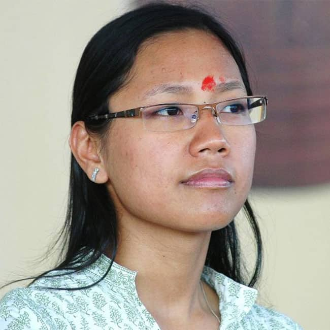 Agatha Sangma of Nationalist Congress Party (NCP)