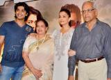 Aishwarya Rai Bachchan attends Jazbaa special screening with parents