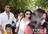 Ajay Devgn takes family on a movie date; watches Golmaal Again with mother!