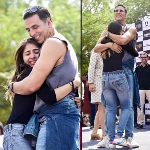 IN PICS: Akshay Kumar gives free hugs, kisses and defence training during Naam Shabana promotions!