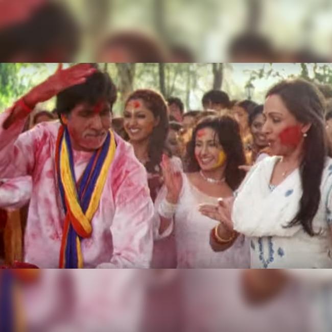 Amitabh Bachchan's Rang Barse Song From Silsila Movie