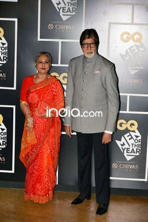 Old is Gold! Amitabh-Jaya, Parveen-Kabir stole the show at GQ Awards 2016