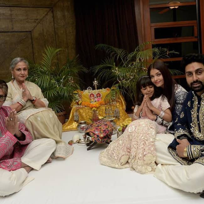 Amitabh Bachchan shares a picture on Instagram during Diwali celebrations