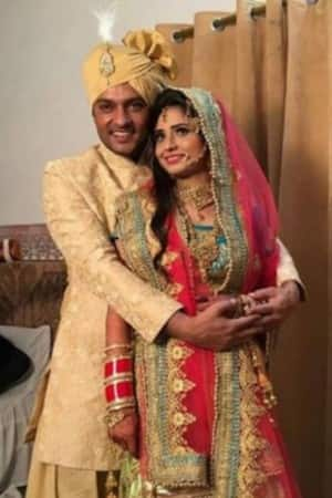 Inside pics of Diya Aur Baati Hum actor Anas Rashid's wedding ceremonies!