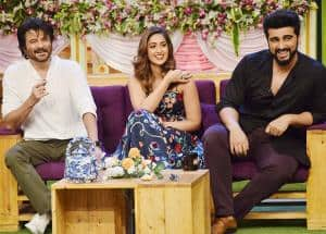 IN PICS: 7 best moments when team Mubarakan hijacked The Kapil Sharma Show!