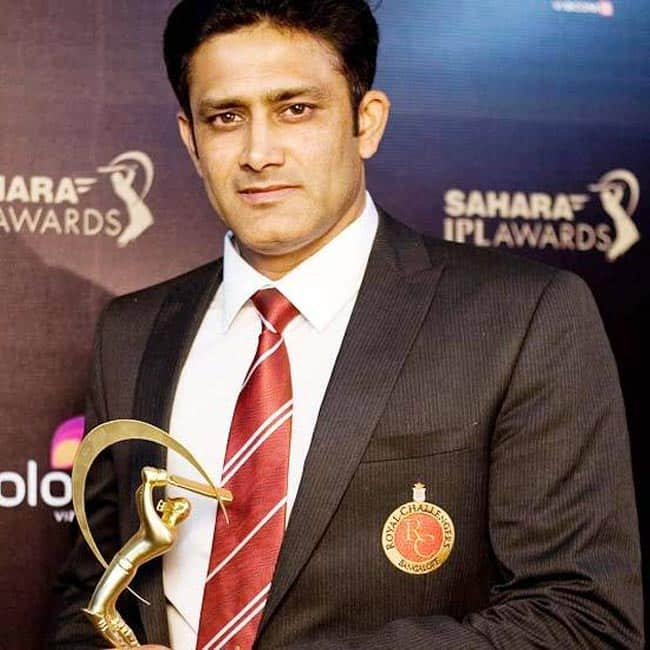 Anil Kumble appointed as coach of Indian cricket team