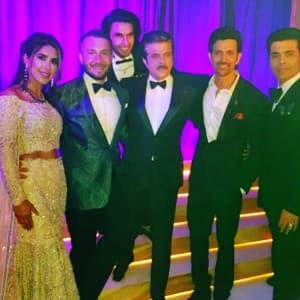 PICS: Hrithik Roshan, Sonam Kapoor, Ranveer Singh lit up fashion blogger Anooshe Mussarat's London wedding!