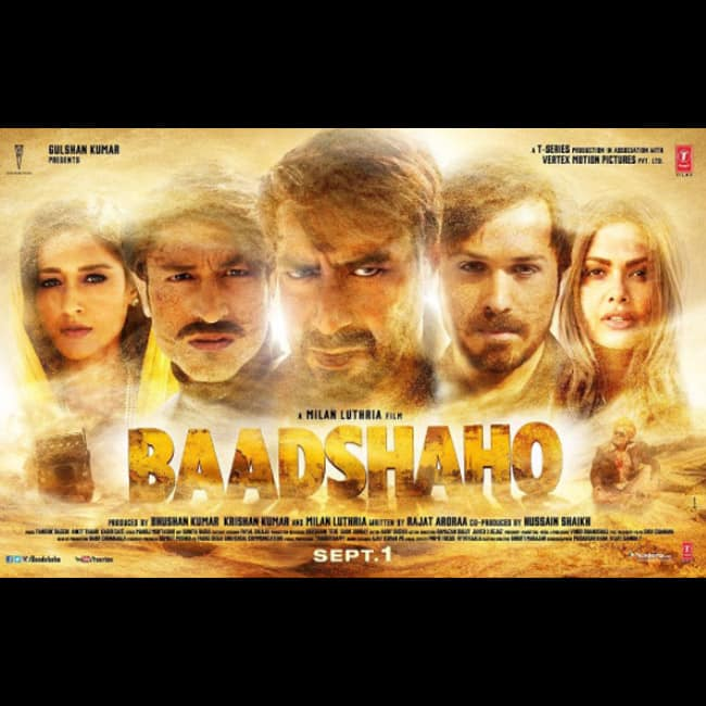 Another poster of Baadshaho features all six characters