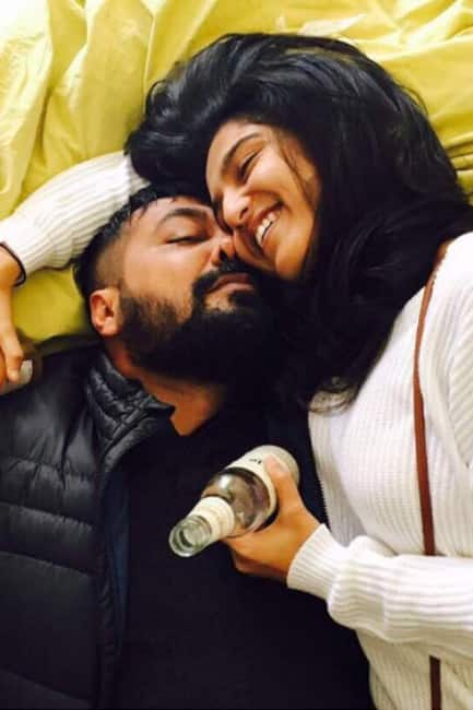 Anurag Kashyap's love dominating picture with girlfriend Shubhra Shetty