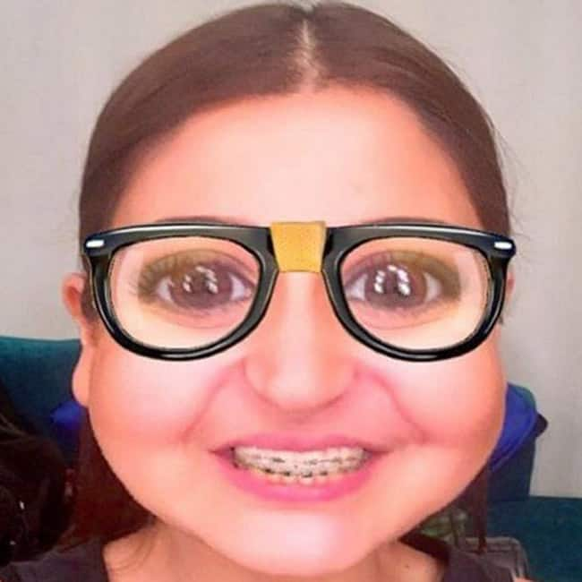 Anushka Sharma's Snapchat picture