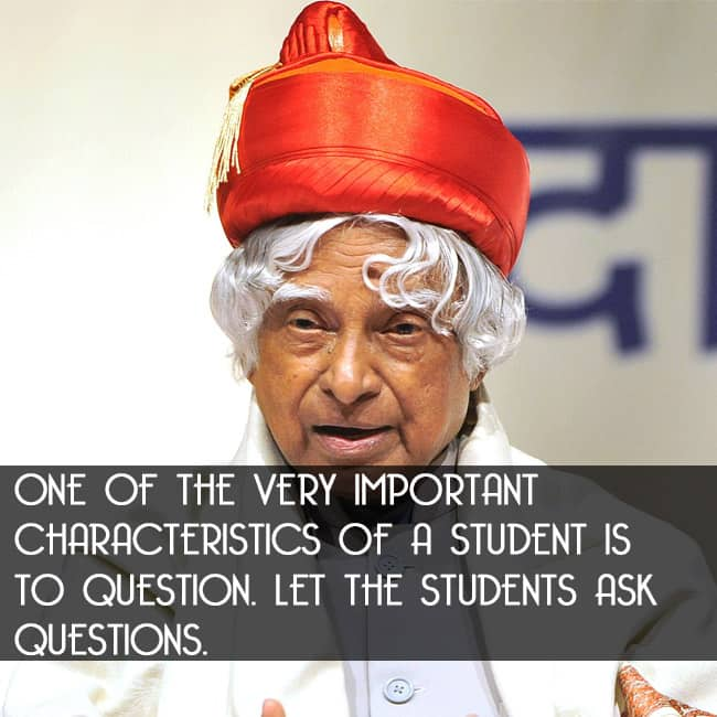 Inspirational Quotes By Apj Abdul Kalam For Students: On His First Death Anniversary, Here Are 10 Quotes By Dr