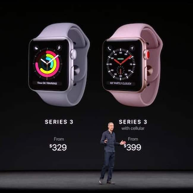 Apple Watch Series 3 availability and price in India ...
