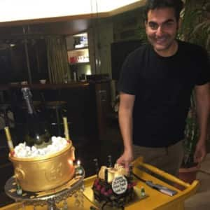 PHOTOS: Malaika Arora arranges a birthday party for ex-husband Arbaaz Khan at her mom's residence!