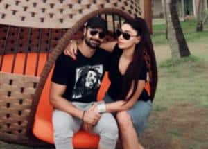 Actors Ashmit Patel and Maheck Chahal get engaged in Spain, see pictures