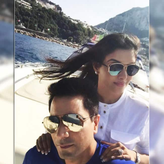 Asin shared this pic from her Italy trip