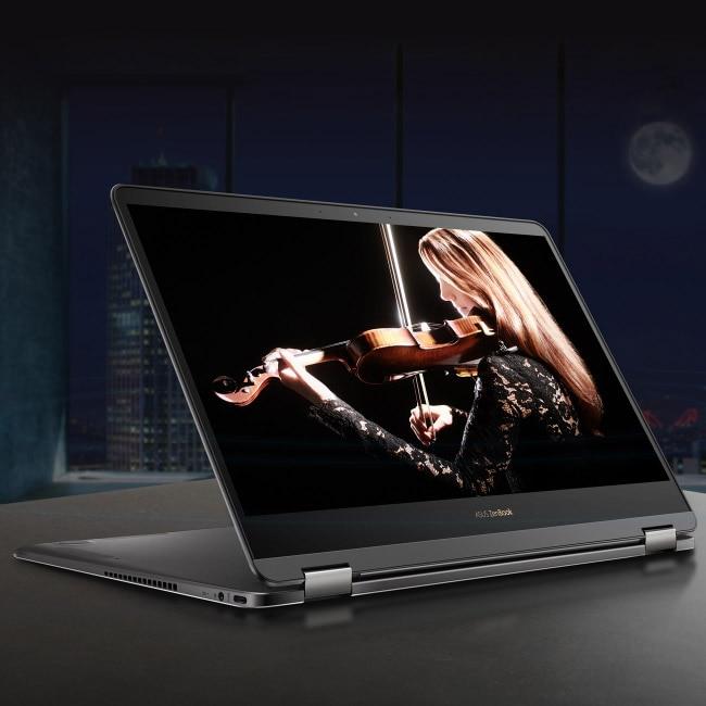 Asus ZenBook Flip S processor and storage