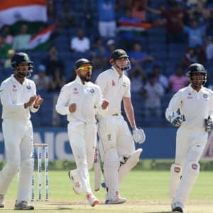 India Vs Australia 2017, 1st Test Day 2: Highlights of the match
