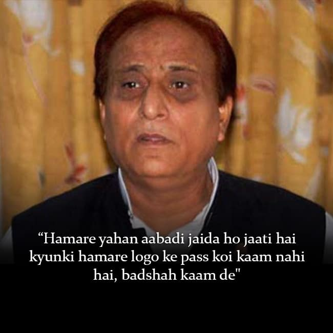 Azam Khan   s statement for Muslim population during UP election rally