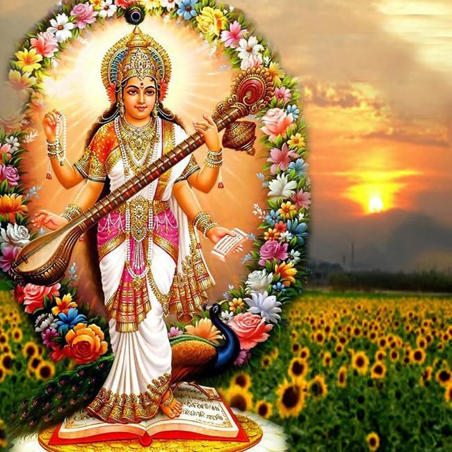 Basant Panchami also marks the birth of Goddess Saraswati