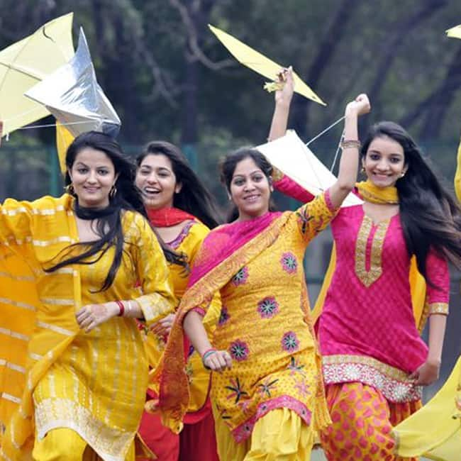 Basant Panchami is also celebrated with kite flying