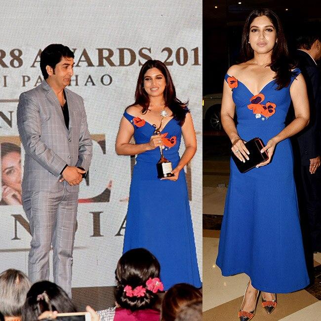 Bhumi Pednekar at Beti Flo GR8 Awards 2018