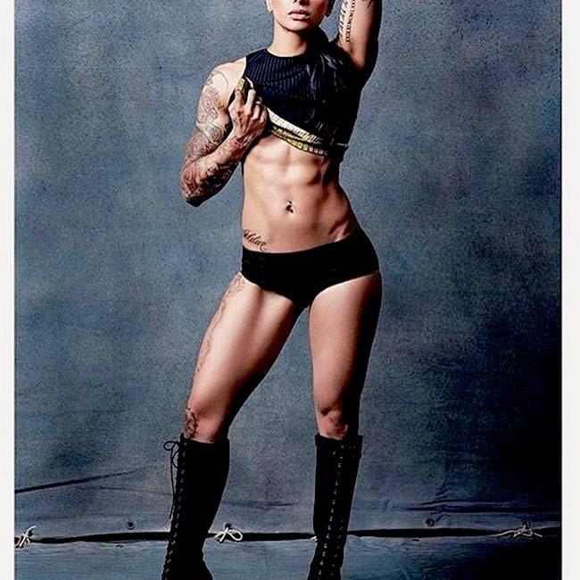 BB 10 contestant VJ Bani poses semi nude during a bold shoot