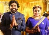 Kollywood actress Namitha hitched with long time beau Veerendra Chowdhary; celebs grace the occasion