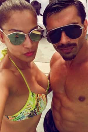 PHOTOS: Bipasha Basu and Karan Singh Grover spread monkey love in Miami now