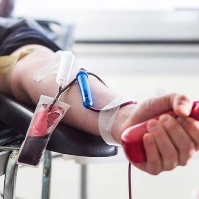 Blood donor gets lower risk of heart diseases