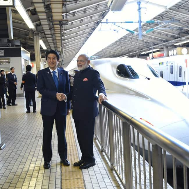 Bullet train project is estimated to cost Rs 1,10,000 crore