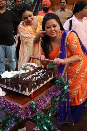 PHOTOS: Busting tiff rumors, Kapil Sharma surprises comedian Bharti Singh on her birthday!