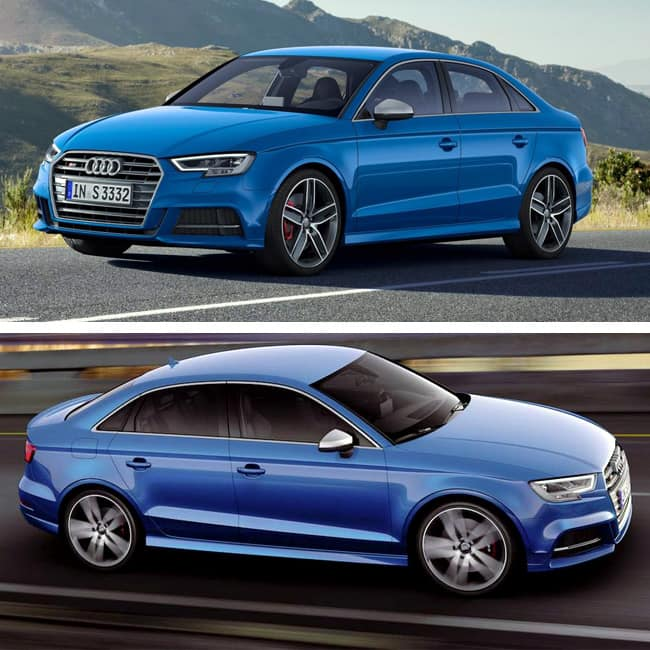 Competition Of 2017 Audi A3 Facelift