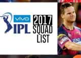 Vivo IPL 2017: List of players in 8 team squads for season 10 of Indian Premier League!